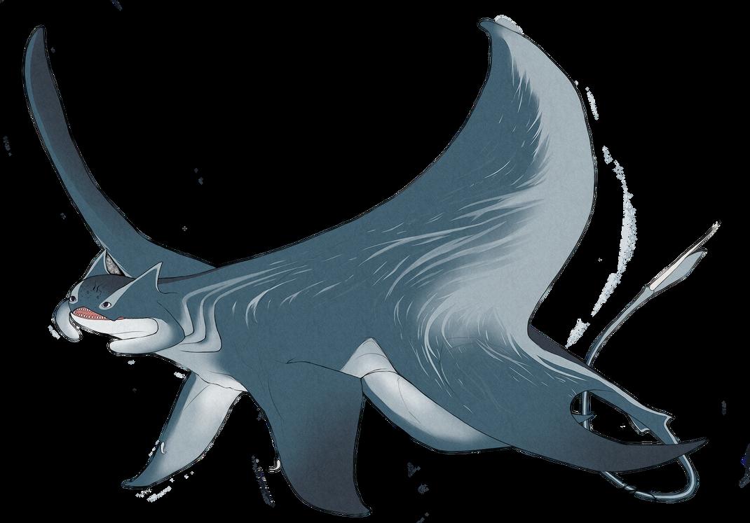 Char trade: manta dragon by Mythrime