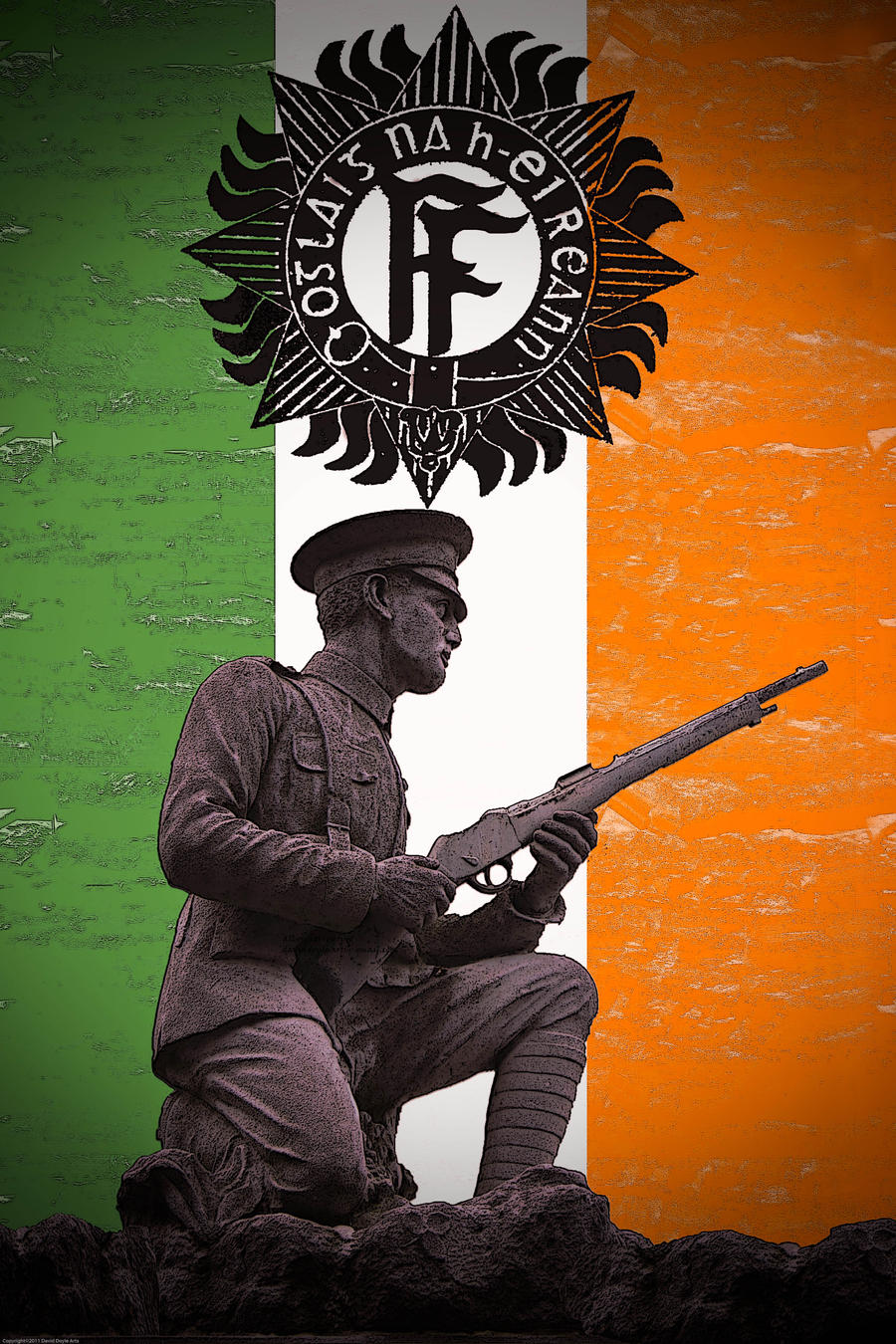 1916 Volunteer by DavidDoylearts