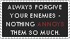 Enemies Stamp by Skylark-93