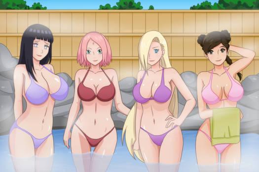 Hinata x Sakura x Ino x Tenten