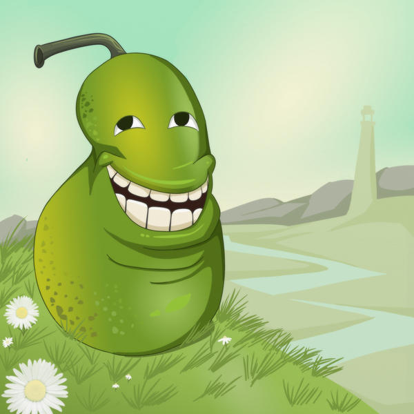 Trolling Pear by Shablagooo
