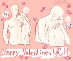 Open : [Set price] YCH 02 Happy Valentines Day by suturn69