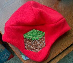 Minecraft Grass Block Hat