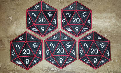 Custom D20's for DiceCollector.com