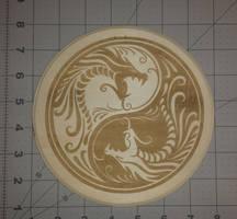 WOOO! Dragon Laser Cutter / Engraver Test