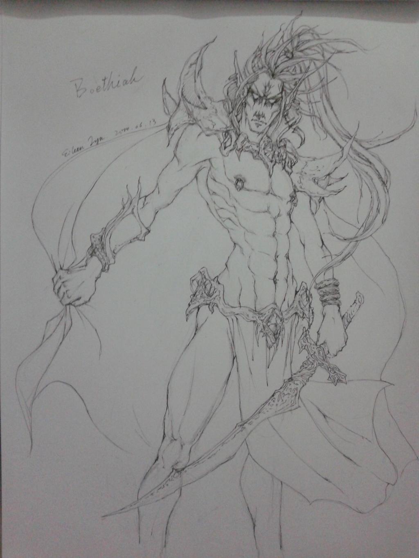 Boethiah by EileenLyn