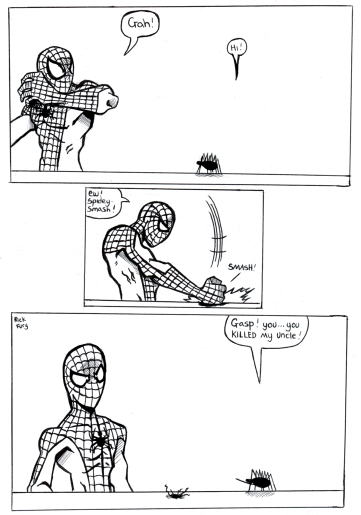 Spider-Man: An Ironic Irony by TheMonkeyYOUWant