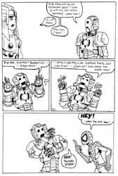 Legends Of Drunken Iron Man 8 by TheMonkeyYOUWant