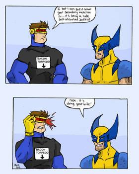 Wolvie And Cyclops: Frienemies
