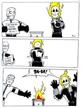 GnR: Stupid Superhero Tricks