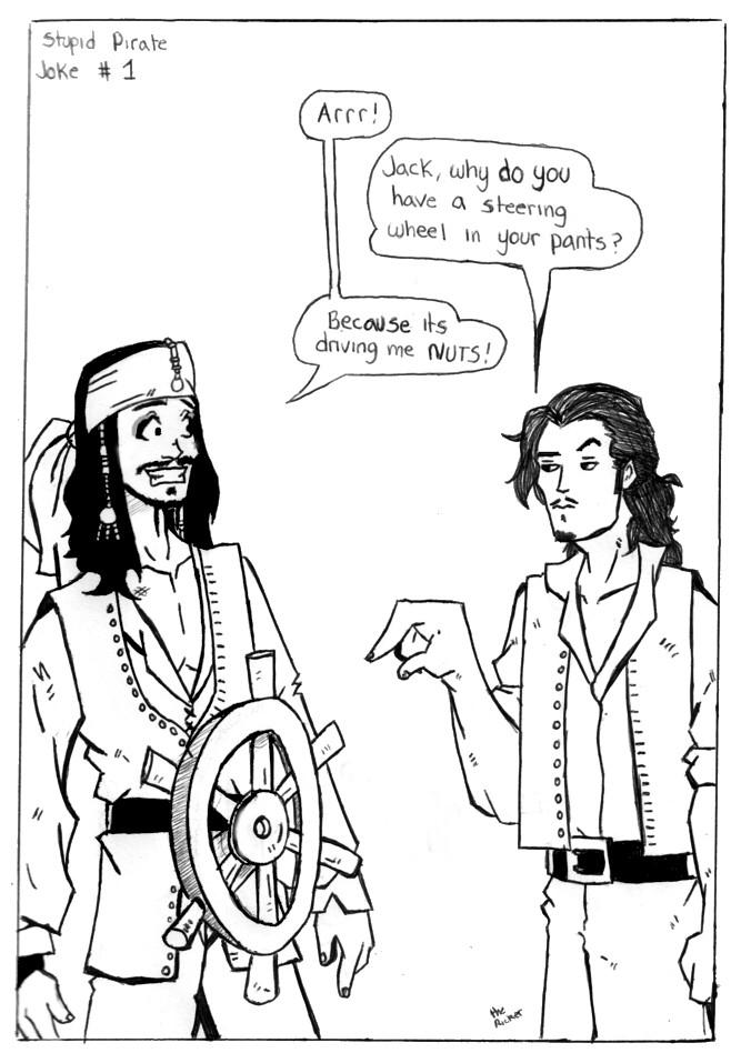 Stupid Pirate Jokes Part 1