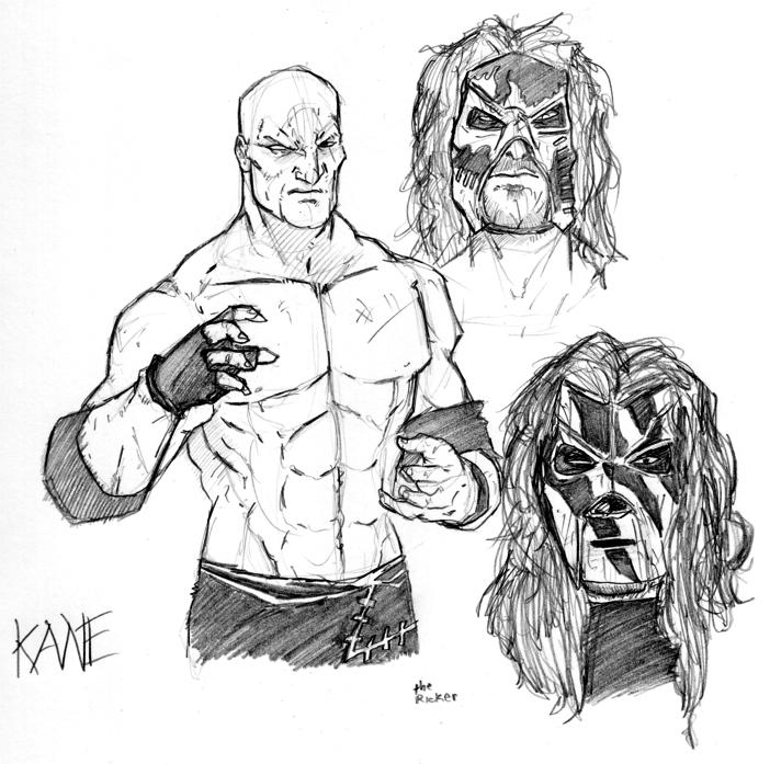 kane mask coloring pages - photo#1