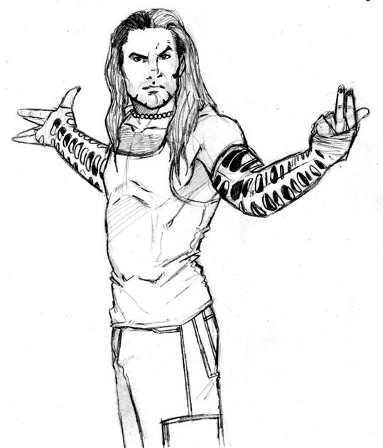 Wwe The Boogeyman By Themonkeyyouwant On Deviantart Jeff Hardy Color Drawing