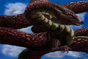 The Neverending Dragon by WacomDragonArtist