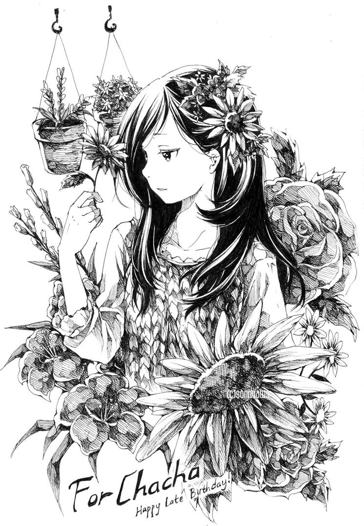 Flower girl by sonnyaws