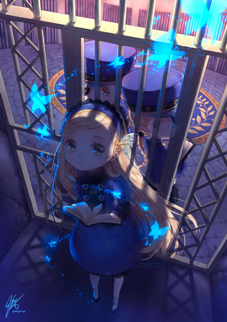 Blue Prisoner by sonnyaws