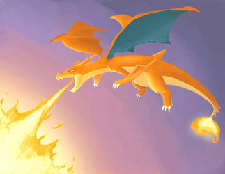 Mega Charizard by Rca9trainr