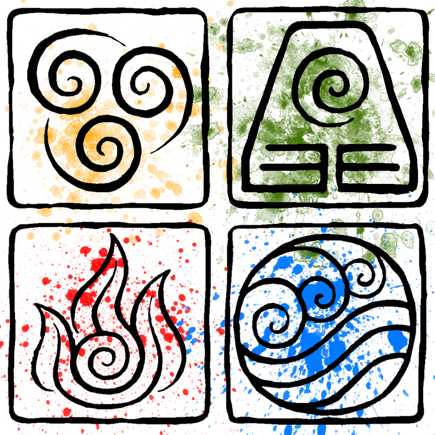 Atla Element Symbols By Piandaoist On Deviantart
