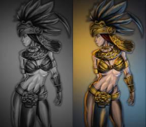 Aztek redraw by Phantasis