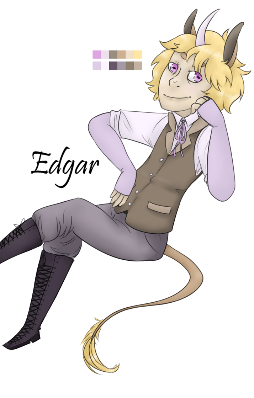 Edgar by PeaceArt79