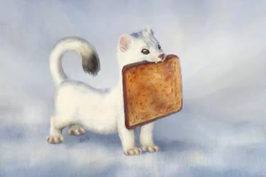Toast Weasel by ToastWeasel