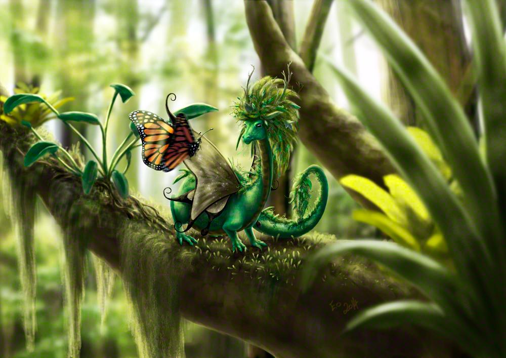 Little Forest Guardian by ToastWeasel