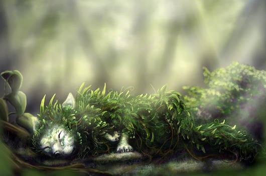 Sleepy Plant Spirit