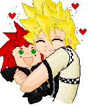 Roxas and Axel plushie by Sexi-Pixelzz