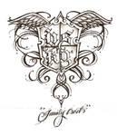 My Family Crest Tattoo design