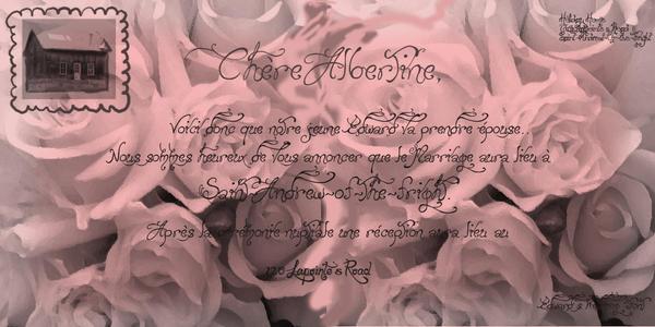 Edward's Wedding Font by AlbertineFont
