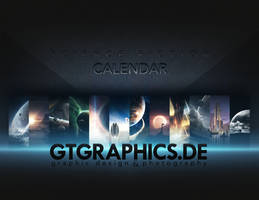 Science Fiction Calendar by TobiasRoetsch