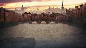 Old Bridge by TobiasRoetsch
