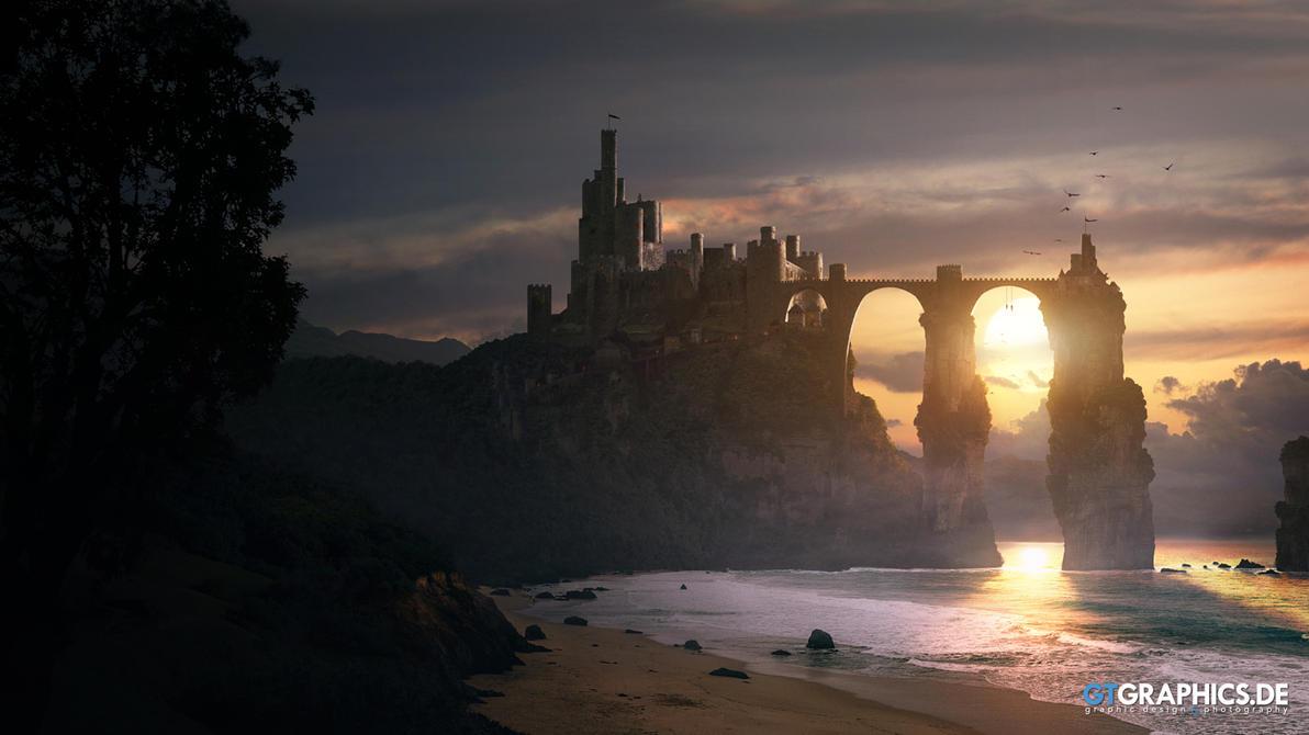 Twinrocks Fortress by taenaron