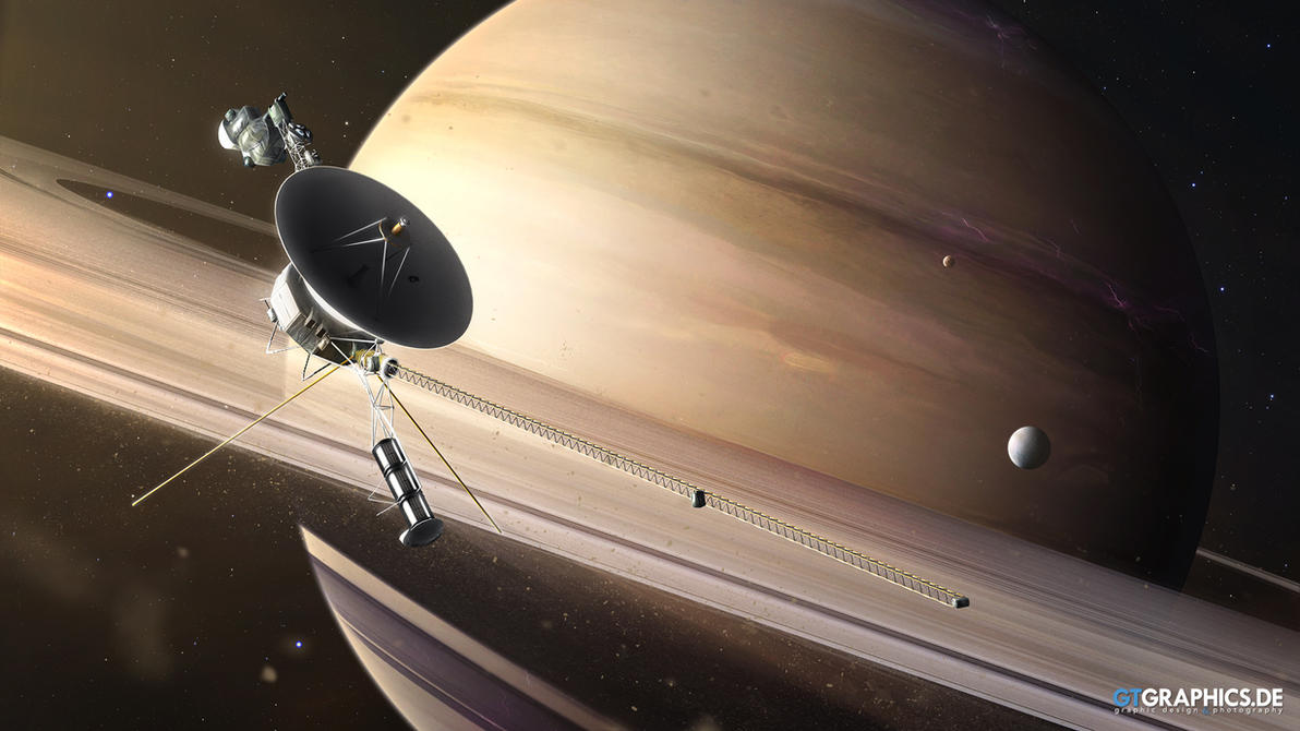 Saturn Flyby by TobiasRoetsch
