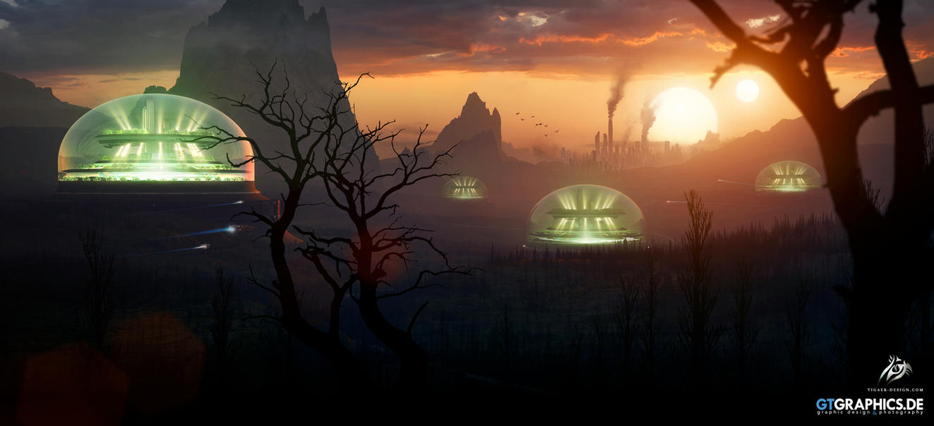 Domes of Hope by TobiasRoetsch