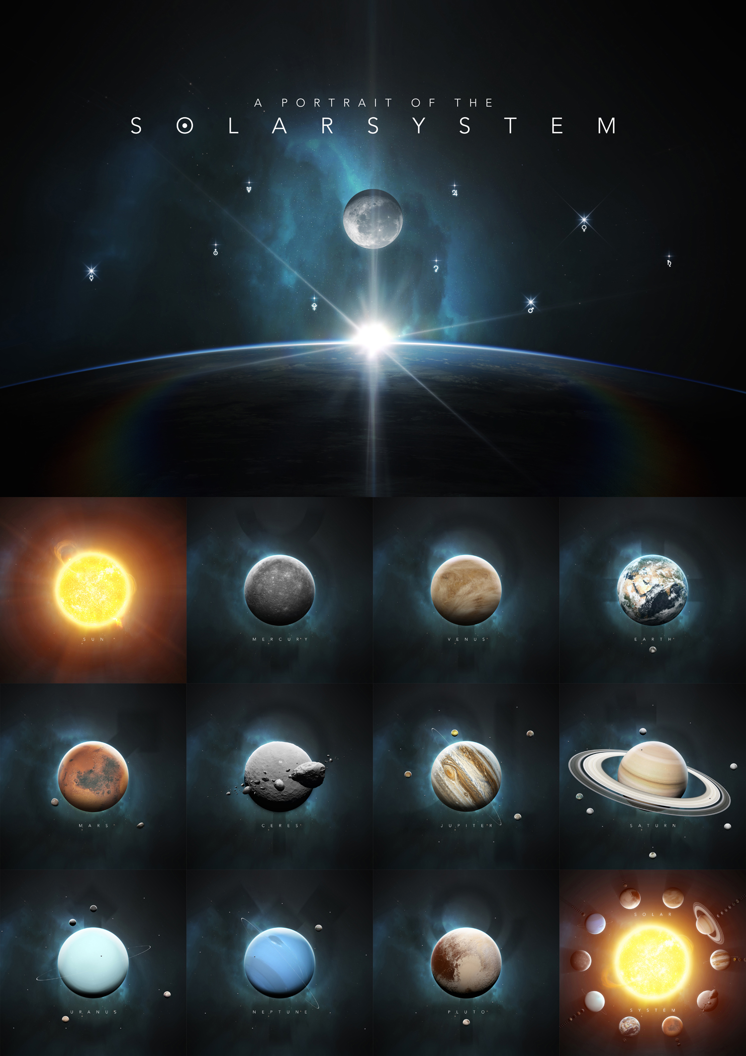 Calendar: A Portrait of the Solar System by TobiasRoetsch