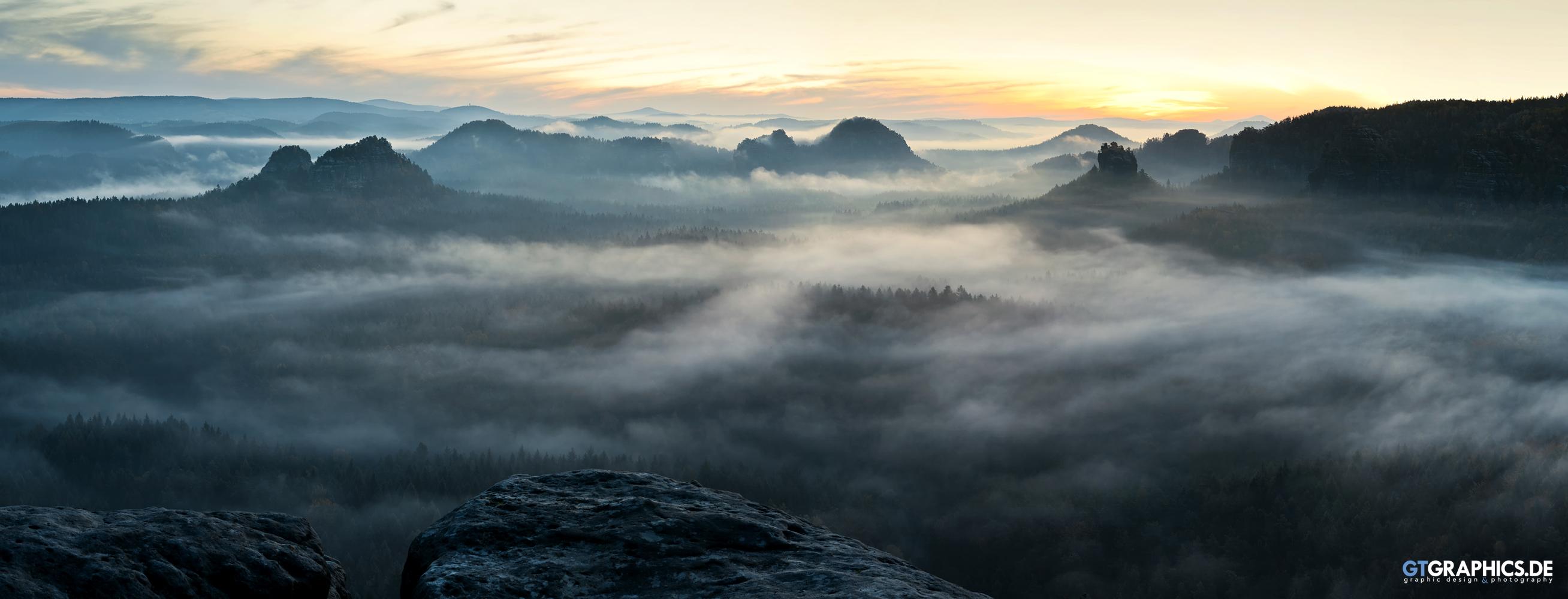 Zschand Panorama by TobiasRoetsch