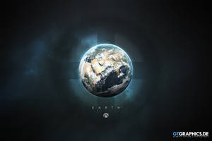 A Portrait of the Solar System: Earth by TobiasRoetsch