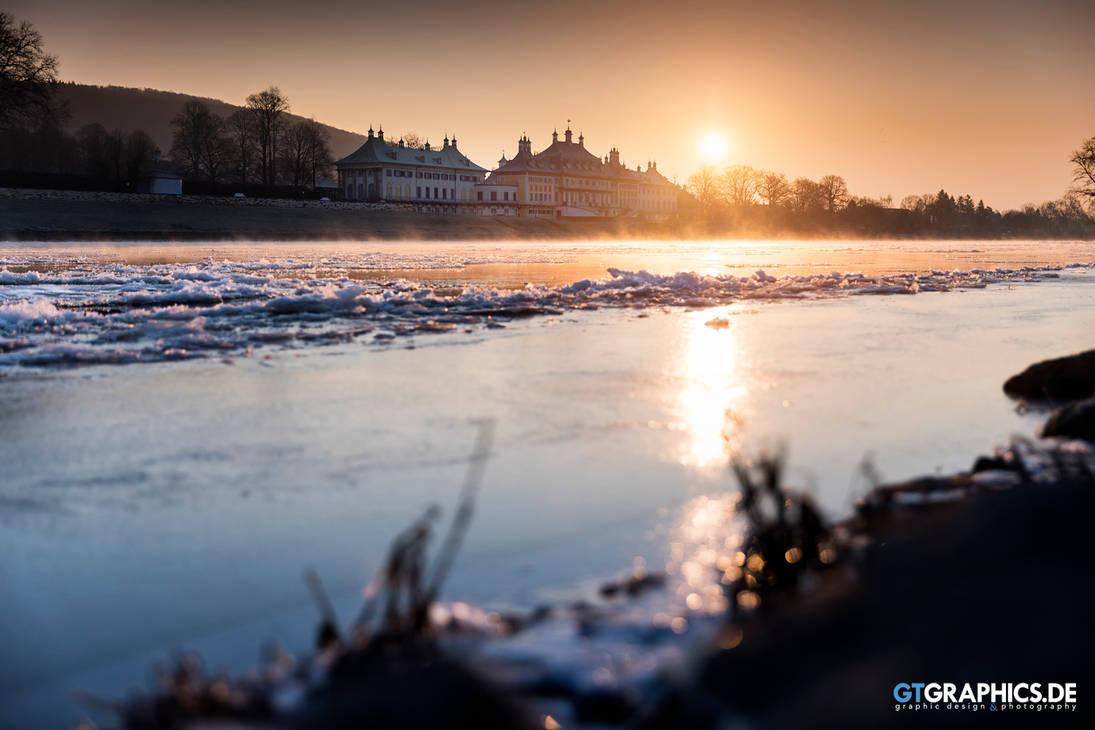 Wintermorgen in Pillnitz