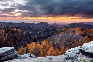 Carolafelsen Sunset
