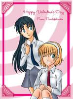 Happy valentine's day by Rezuban