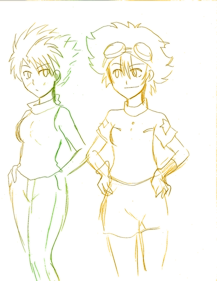Digimon tg matt tai by Rezuban