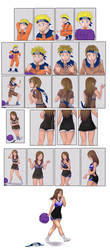 Naruto to Cheerleader Tg Sequence Commission