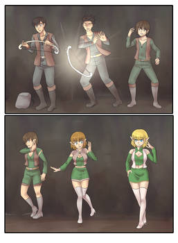 Elven journey Part 2 TG Sequence