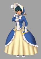 Ashley Fancy Dress Colored by Rezuban