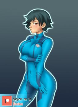 Zero suit Ash TG Colored