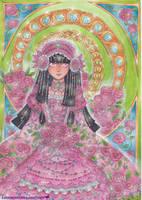 princess Koori with Peony by lacrimosalis