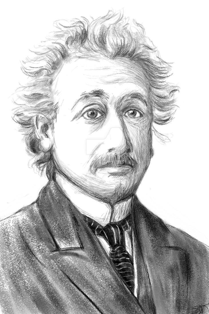 Einstein by racerxmachina