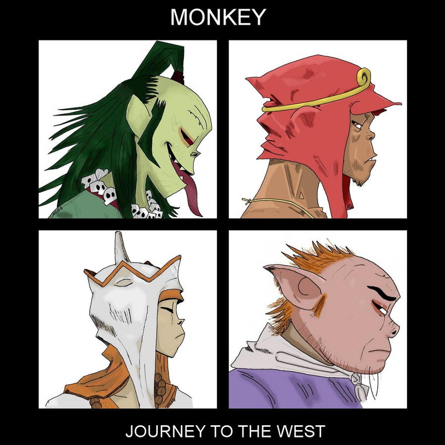 monkey journey to the west