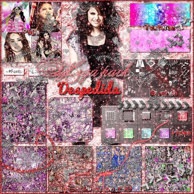 +Mega pack | despedida by SoHappilyDream